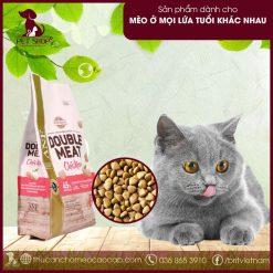 Thức ăn hạt cho mèo cao cấp vị gà
