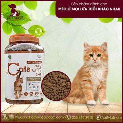 Thức ăn hạt cho mèo Catsrang