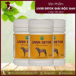 Liver Detox VD giải độc gan cho chó